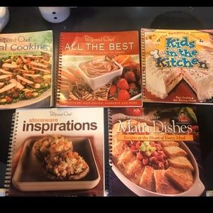 Pampered Chef lot of 5 Cookbooks